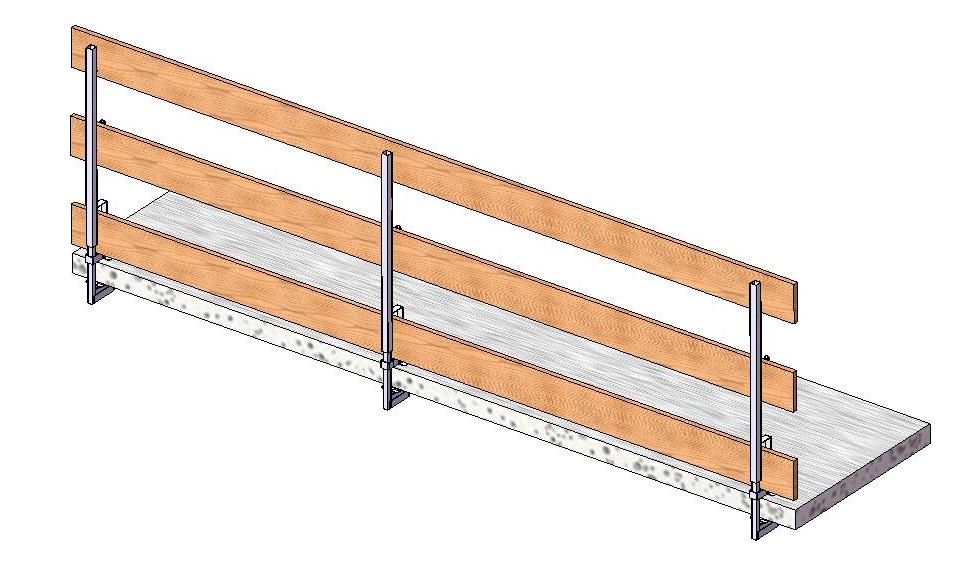 Dachböden, Terrassen, Treppen und Randbalken